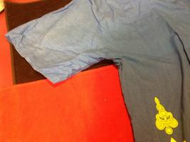Hawaiian Mens Short Sleeved Shirt Blue Green Yellow Size Large image 6