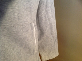 Heather Gray Zip Up Sweat Jacket Style & Co. Made in Cambodia Size Large image 4