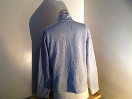Heather Gray Zip Up Sweat Jacket Style & Co. Made in Cambodia Size Large image 5