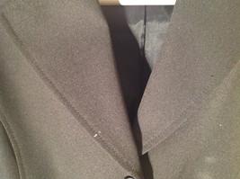 Hennes Collection Black Long Formal Jacket Front Pockets Shoulder Pads Size 10 image 7