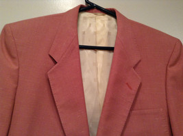 Lined Pink Blazer 2 Button Closure 2 Front Pockets Ratner Clothes No Size Tag image 2