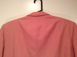 Lined Pink Blazer 2 Button Closure 2 Front Pockets Ratner Clothes No Size Tag image 7