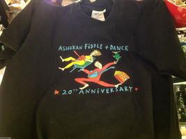Historical limited  run T shirt  in black commemorating Ashokan camp Farewell image 2
