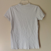 Hollister White Graphic T Shirt 100 Percent Cotton Short Sleeves Size Small image 8