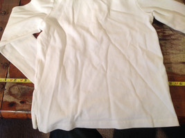 Long Sleeve White Ralph Lauren Collared with Buttons Polo Shirt image 4