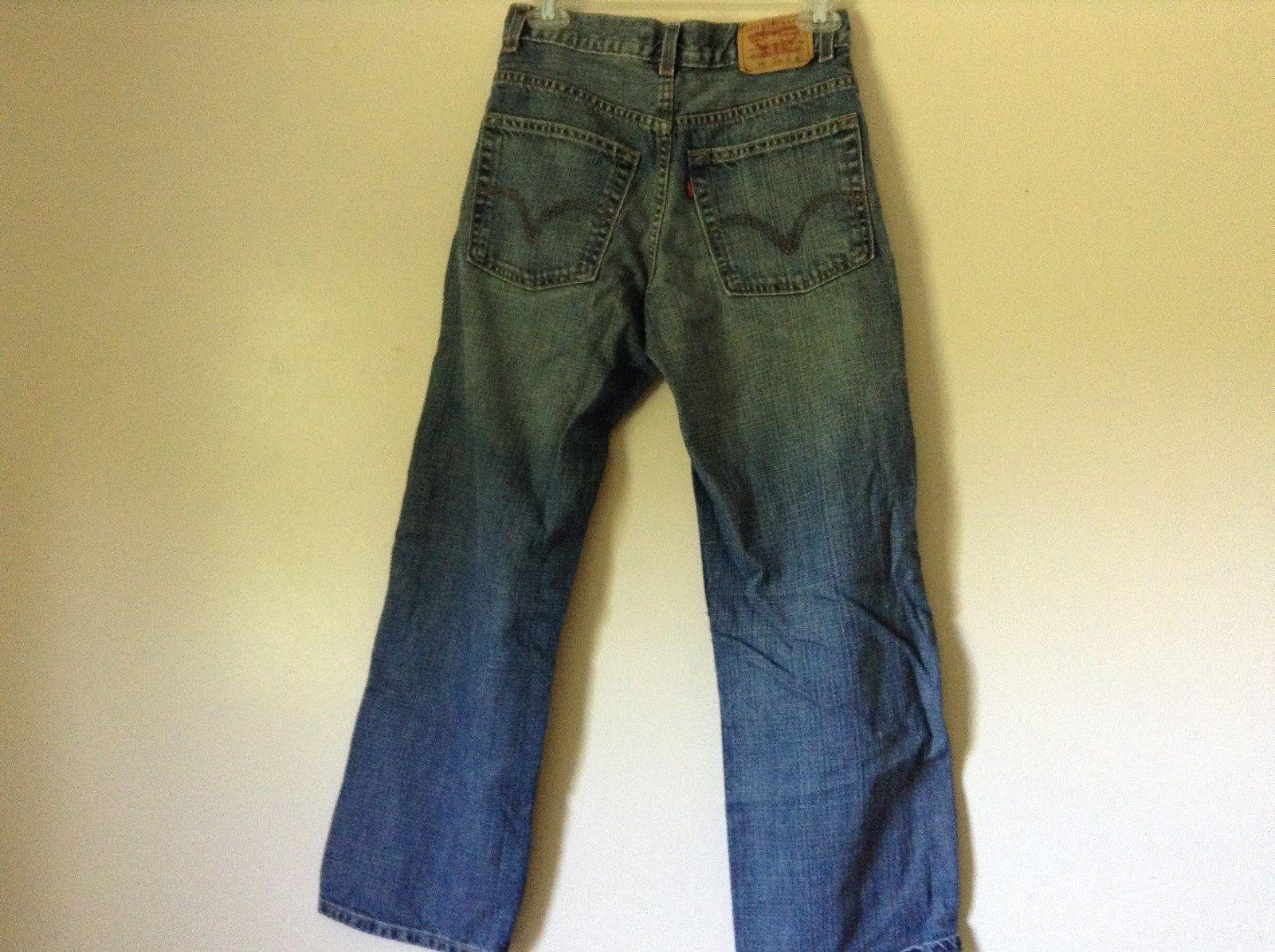 loose straight leg size 16 regular 100 percent cotton levis jeans jeans. Black Bedroom Furniture Sets. Home Design Ideas