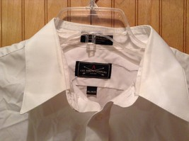 Long Sleeve White Dress Shirt The Arrow Company Button Down Size 34 to 35 image 3