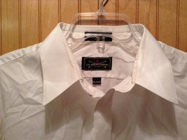 Long Sleeve White Dress Shirt The Arrow Company Button Down Size 34 to 35 image 4