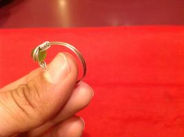 Homemade 11 quarter ring wrap germanium to prevent tarnish Green Silver image 6
