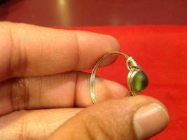 Homemade 11 quarter ring wrap germanium to prevent tarnish Green Silver image 9