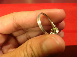 Homemade 6,1 quarter ring wrap germanium to prevent tarnish light green silver image 6