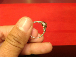 Homemade 6,1 quarter ring wrap germanium to prevent tarnish light green silver image 7