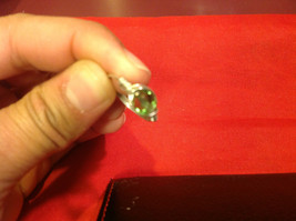 Homemade 6,1 quarter ring wrap germanium to prevent tarnish light green silver image 11