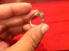 Homemade 2 quarter ring wrap germanium to prevent tarnish light sea brown image 8