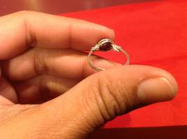 Homemade 7 ring wrap germanium to prevent tarnish Purple Silver image 2