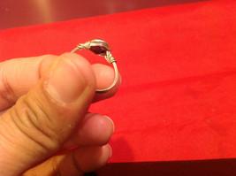 Homemade 7 ring wrap germanium to prevent tarnish Purple Silver image 5
