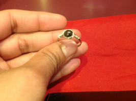 Homemade 7.2 quarter ring wrap germanium to prevent tarnish black light brown image 3