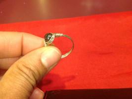 Homemade 7.2 quarter ring wrap germanium to prevent tarnish black light brown image 6