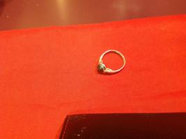 Homemade 7.2 quarter ring wrap germanium to prevent tarnish black light brown image 8