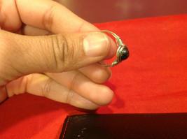 Homemade 7.2 quarter ring wrap germanium to prevent tarnish black light brown image 12