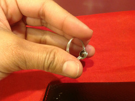 Homemade 7.2 quarter ring wrap germanium to prevent tarnish black light brown image 11