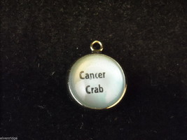 Horoscope Cancer Crab Bracelet Charm image 3