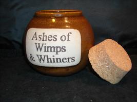 Humorous Ash Jar Decorative Ceramic Collectible  Glazed image 3