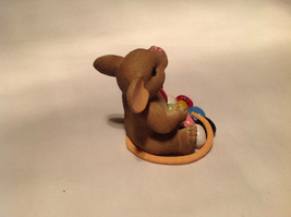 I Love My Yum Yums Charming Tails Figurine Mouse Eating Colored Jellybeans image 4