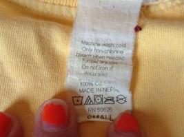 ICantoo Casual Wear Yellow Short Sleeve T Shirt Kona Hawaii Flip Flops Size S image 6