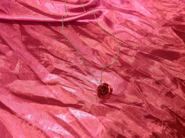 Lovely7 inch necklace with rose image 2