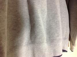 M & C Sport Gray Sweatshirt with Dark Blue Trim on Neck  Cuffs and Waist Size XL image 4