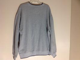 M & C Sport Gray Sweatshirt with Dark Blue Trim on Neck  Cuffs and Waist Size XL image 6
