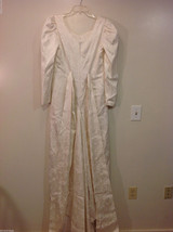 Maggie Flood Long Sleeve Carmen Sweep train Wedding Dress Made in USA CustomSize image 6