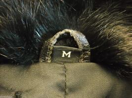 Luxurious black  fur coat full length size Medium image 8