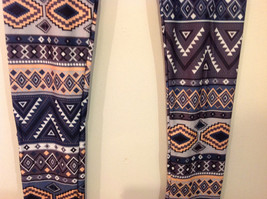 MAD Style Spring Summer Tribal leggings, two color choice image 5