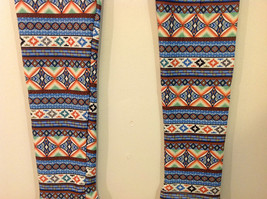 MAD Style Spring Summer Tribal leggings, two color choice image 11