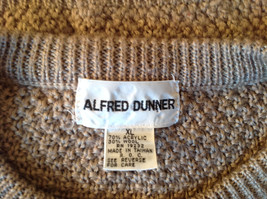 Lovely Tan Sleeveless Sweater Vest Acrylic and Wool Alfred Dunner Size XL image 6