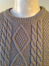 Lovely Tan Sleeveless Sweater Vest Acrylic and Wool Alfred Dunner Size XL image 2
