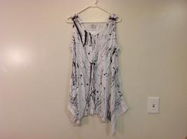 MAD New Sleeveless Summer Splatter Short Dress, Black or White image 11
