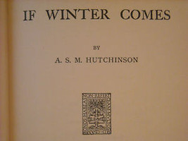 If Winter Comes 1921 Hutchinson Little Brown image 2