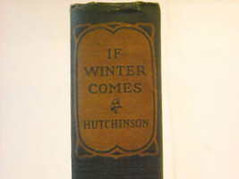 If Winter Comes 1921 Hutchinson Little Brown image 8