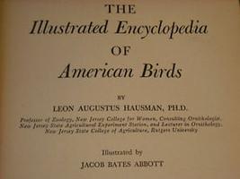 Illustrated Encyclopedia of American Birds 1944 1st ed image 4