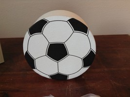 Ichiban Night Light Black and White Soccer Ball Original Box US Outlet image 3