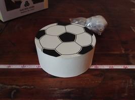 Ichiban Night Light Black and White Soccer Ball Original Box US Outlet image 5