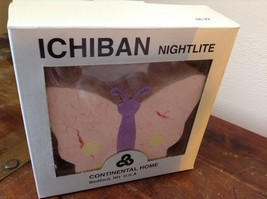 Ichiban Night Light Butterfly with Pink Wings Original Box Colorful US Outlet image 7