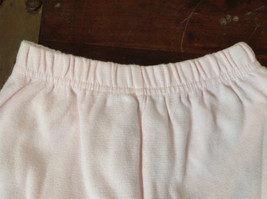 Infant Pale Pink Elastic Waist Shorts from Basic Editions Size 24 Months image 2