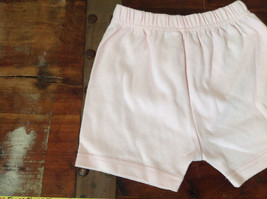 Infant Pale Pink Elastic Waist Shorts from Basic Editions Size 24 Months image 4