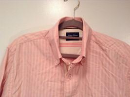 Indigo Palms Denim Company Long Sleeve Pink with Stripe Pattern Size M Shirt image 3