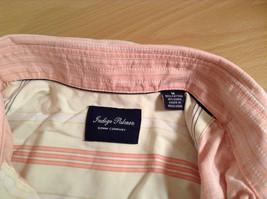 Indigo Palms Denim Company Long Sleeve Pink with Stripe Pattern Size M Shirt image 8