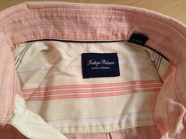 Indigo Palms Denim Company Long Sleeve Pink with Stripe Pattern Size M Shirt image 7
